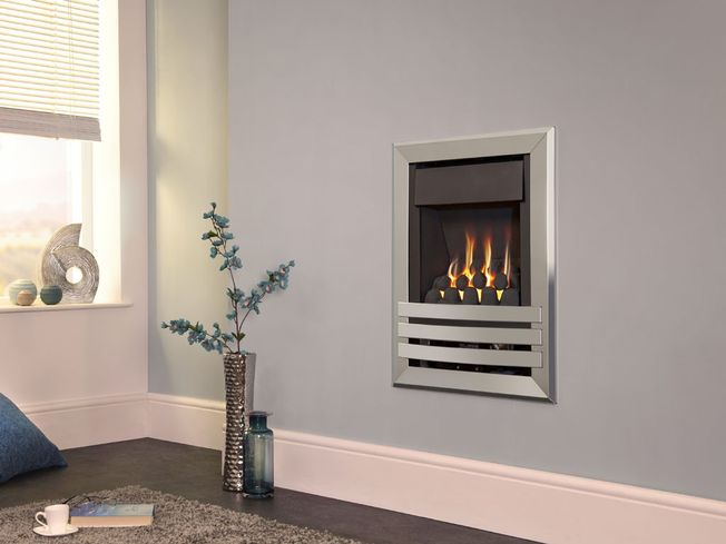 FLAVEL WINDSOR CONTEMPORARY PLUS WALL-MOUNTED GAS FIRE