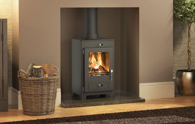 BROSELEY 'SILVERDALE SE' WOODBURNING STOVE