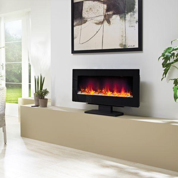 BE MODERN AMARI HANG-ON-THE-WALL/STAND-MOUNTED ELECTRIC FIRE