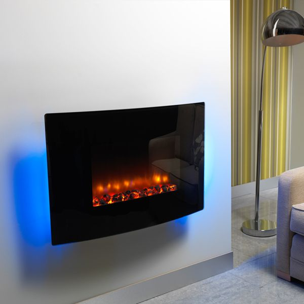 BE MODERN ORLANDO HANG-ON-THE-WALL ELECTRIC FIRE