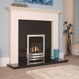 FLAVEL LINEAR PLUS OPEN-FRONTED DEEPLINE GAS FIRE