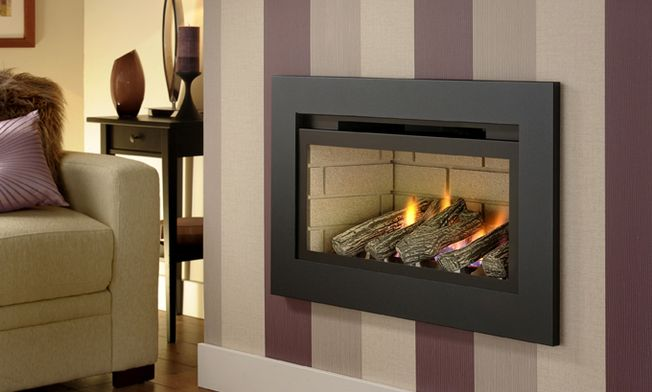 CRYSTAL BOSTON HE HOLE-IN-THE-WALL GAS FIRE