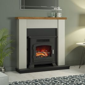 "BE MODERN RAVENSDALE 42"" ELECTRIC FIREPLACE SUITE"