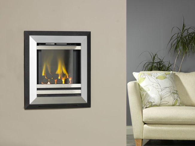 FLAVEL DIAMOND HOLE-IN-THE-WALL GAS FIRE