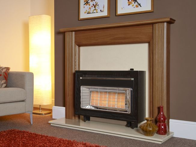 FLAVEL MISERMATIC OUTSET GAS FIRE