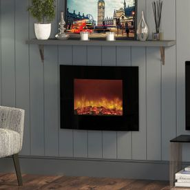 BE MODERN QUATTRO HANG-ON-THE-WALL ELECTRIC FIRE