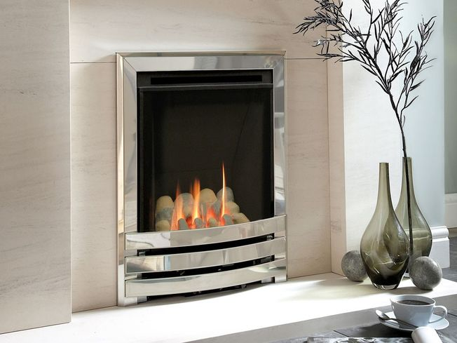 FLAVEL WINDSOR CONTEMPORARY HE HEARTH-MOUNTED GAS FIRE