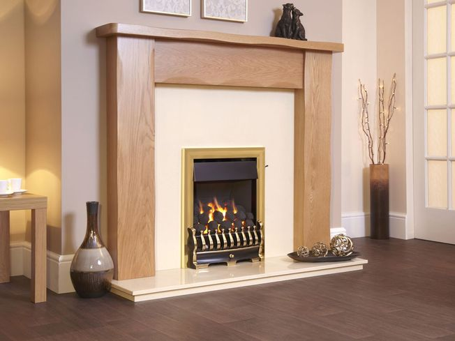 FLAVEL RICHMOND PLUS OPEN-FRONTED FULL DEPTH GAS FIRE