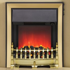 "BE MODERN ""THE FAZER"" INSET ELECTRIC FIRE"