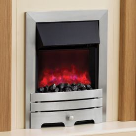 "BE MODERN ""THE ENRICO"" INSET ELECTRIC FIRE"